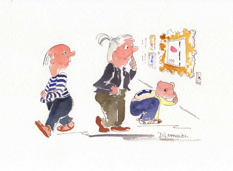 Di Lorriman - Watercolour Artist, Illustrator and Cartoonist